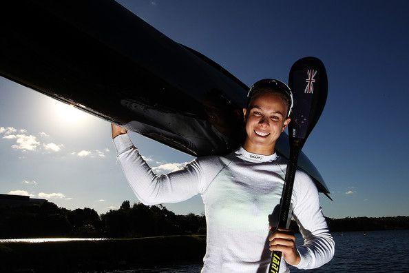Lisa Carrington. Olympic gold medalist in kayaking for New Zealand