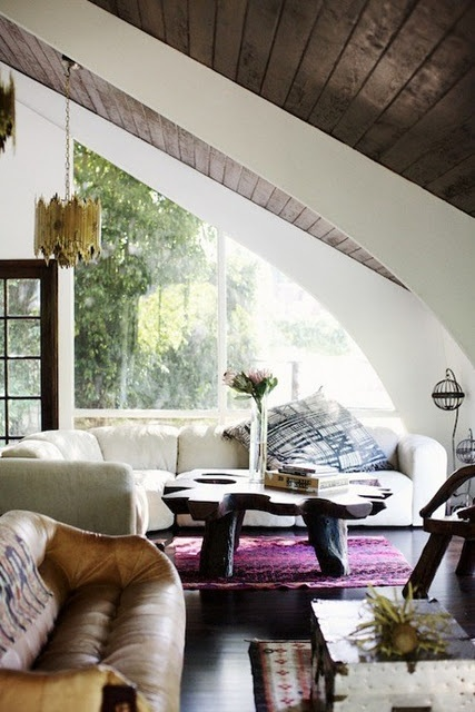 wood and leather style: Interior Design, Idea, Living Rooms, Coffee Table, Dream, Ceiling, Livingroom, House, Space
