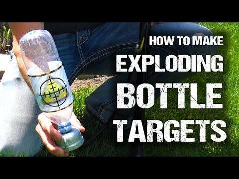 how to make rimfire exploding targets