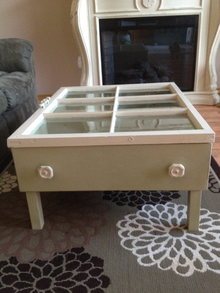 28 best repurposed drawers images on pinterest for Diy coffee table with drawers