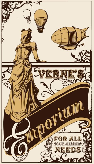 Verne's Emporium by ~thegryph