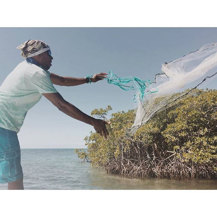 Captain Willy catching some sardines for bait http://ift.tt/1LrtX6O - http://ift.tt/1HQJd81
