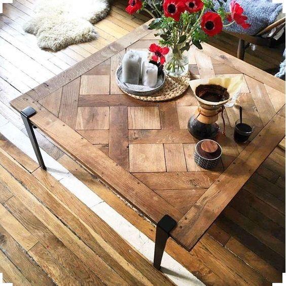 my tiptoe design - table basse pieds en acier