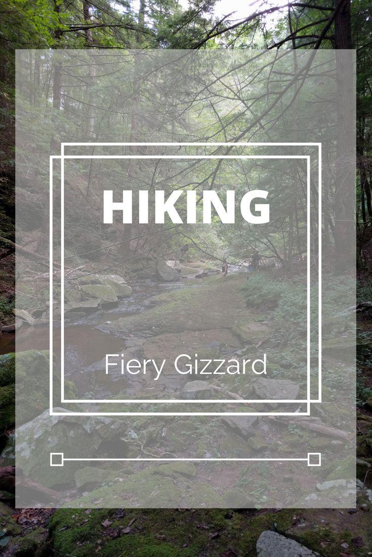 Hiking around Nashville.  Fiery Gizzard, Radnor Lake State Park.