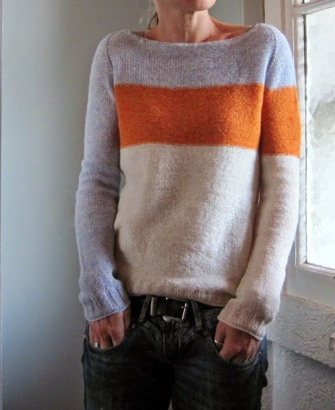 Grasflecken: testknits part 2 - even though this is fingering weight, i love this!
