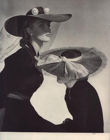 Horst P. Horst, Vogue, Spring Hats, 1942.