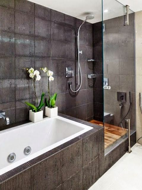 Love the walk in shower, the wooden floor is exceptional