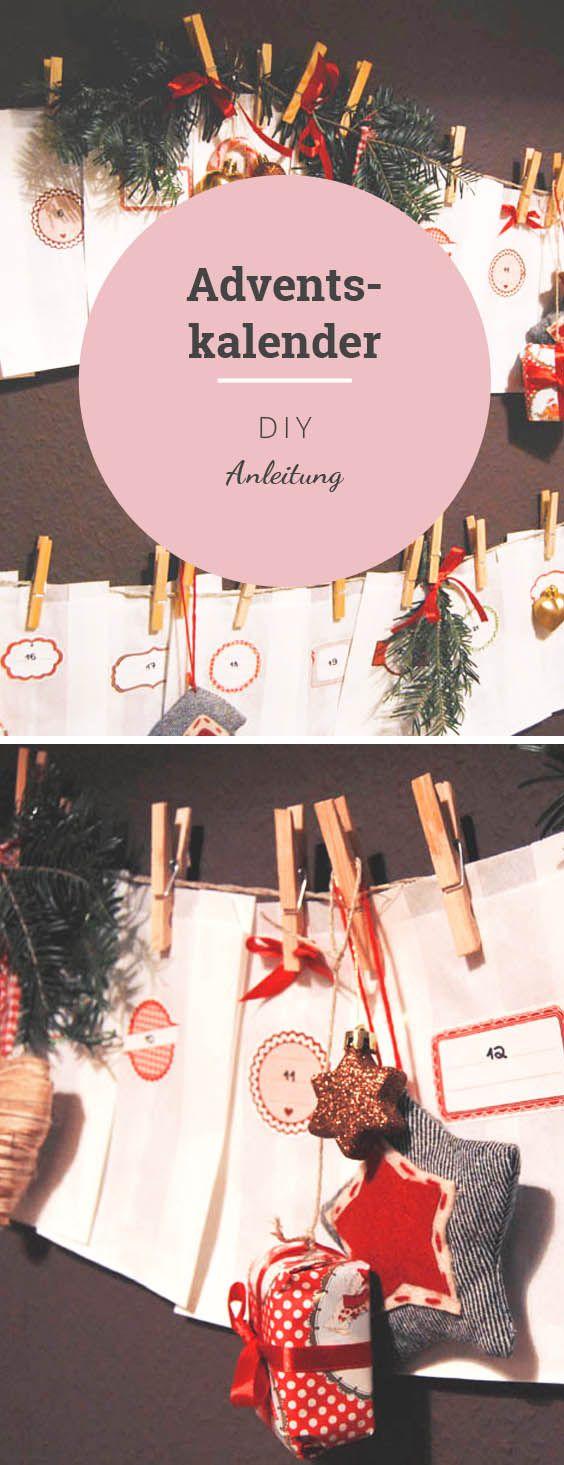 DIY Adventskalender Anleitung zum selber machen: Ein schönes Weihnachtsgeschenk