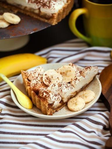 fonds, banane, crême fraîche, beurre, fromage blanc, chocolat, sucre, glace vanille