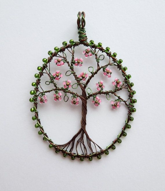 Dogwood Tree beaded and wire wrapped floral by LouiseGoodchild, £26.00