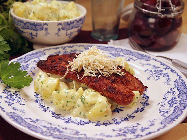 Isterband med persiljestuvad potatis | Recept från Köket.se