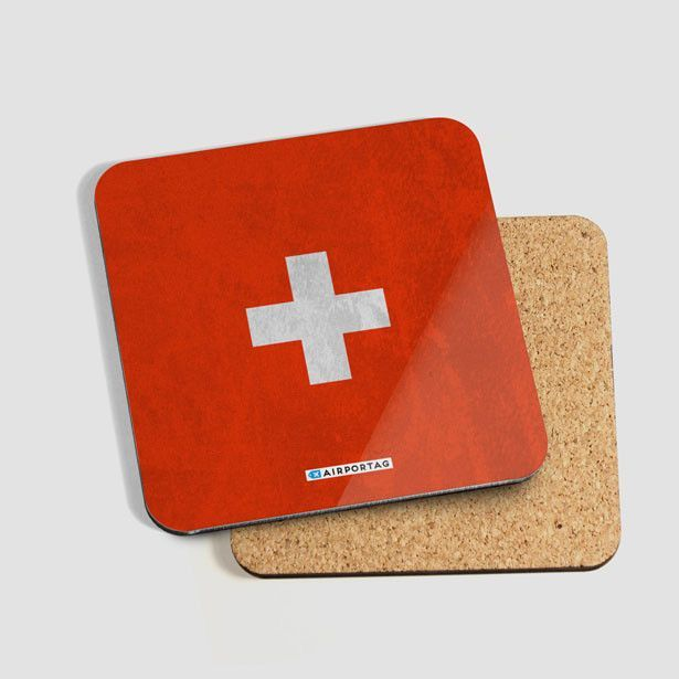 Switzerland Flag - Coaster