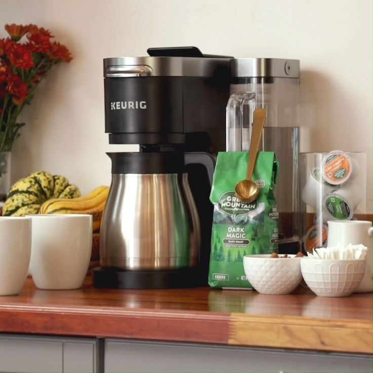 Kduo plus single serve carafe coffee maker video