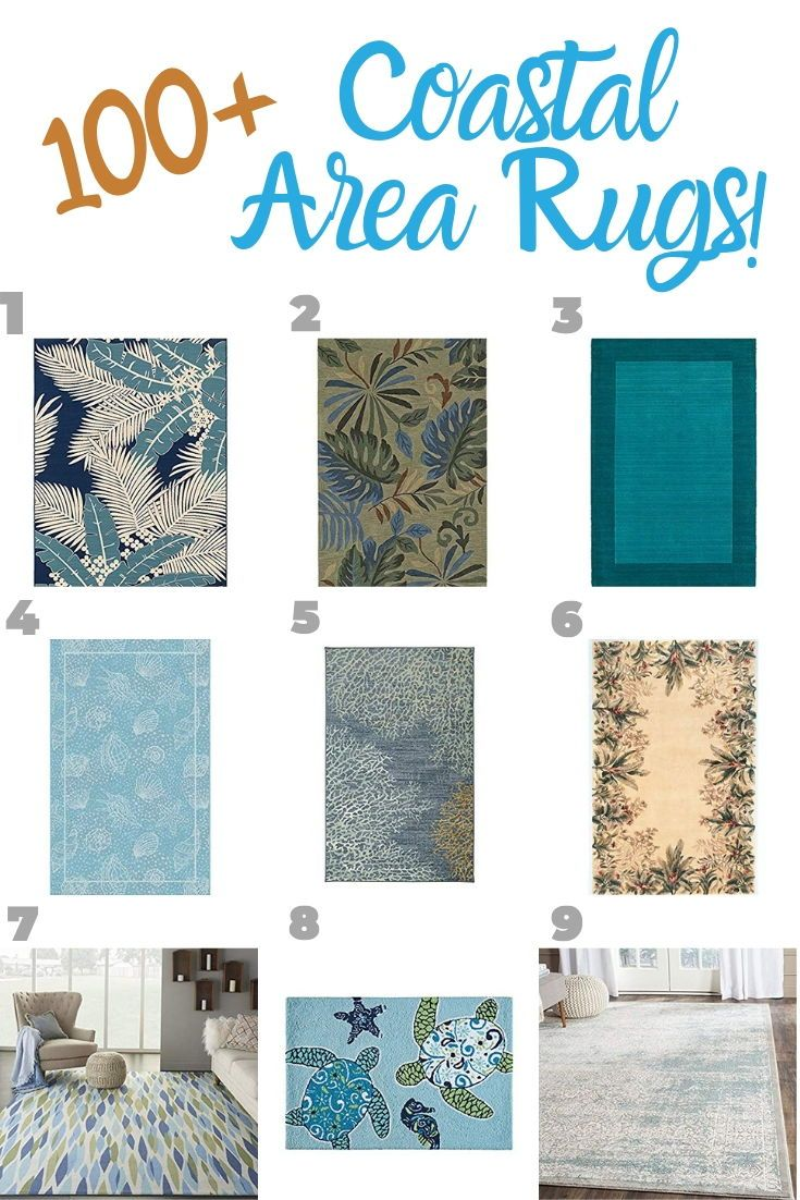 Discover The Best Beach Themed Rugs For
