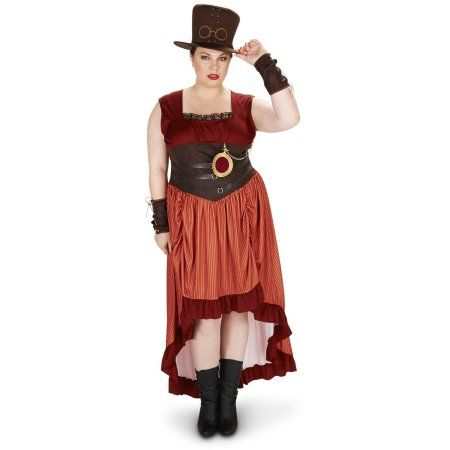 Steampunk Matron Women's Plus Size Adult Halloween Costume, Size: 1XL