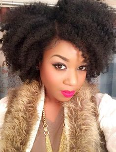 2015 Fall & Winter 2016 Hairstyles for Natural Hair  11