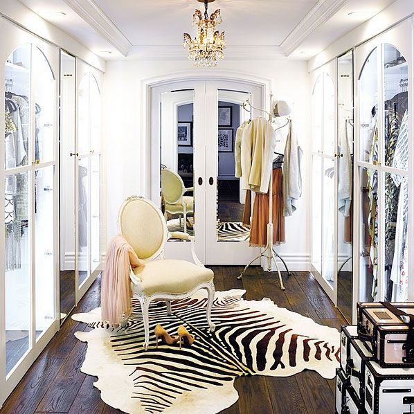 10 Celebrity Closets That Would Put Carrie Bradshaw's To