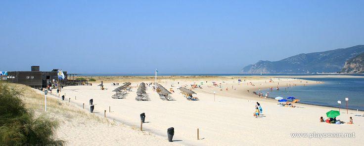 Areal na Praia Tróia (Mar)