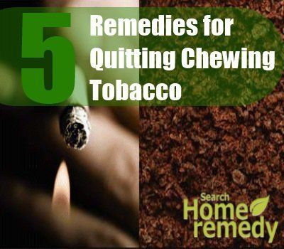 5 Effective Home Remedies for Quitting Chewing Tobacco - How To Quitting Chewing Tobacco | Search Home Remedy