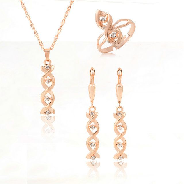 ГР Ювелирные Чешские золотые украшения для женщин Падения ожерелье для женщин Свадебное ожерелье как подарок