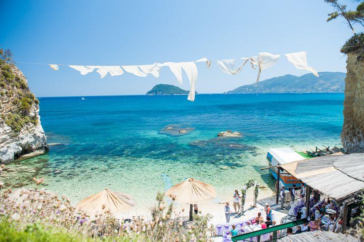 Wedding in Zante - Cameo Island  Wedding Abroad by The Bridal Consultant