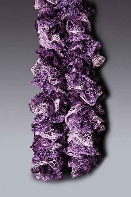 Ravelry: Crochet Ruffle Scarf Pattern pattern by The Perfect Knot - Michelle Kovach