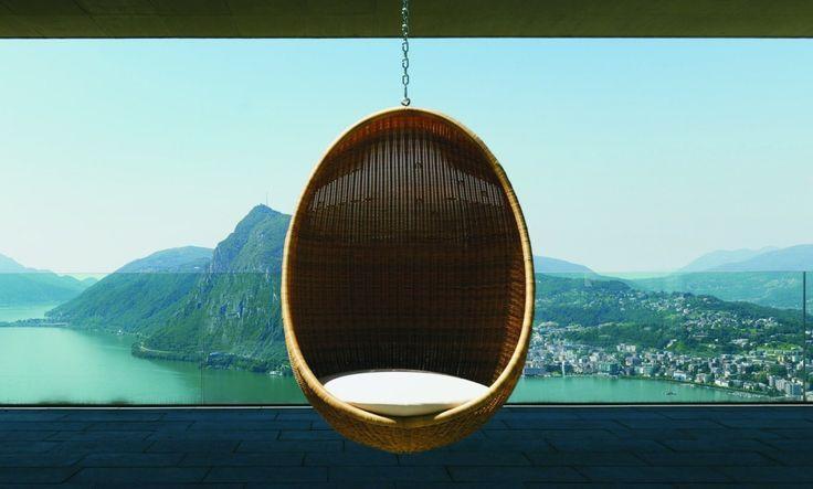 Cadeira Egg Suspensa Vamos Balançar ? | Click Interiores