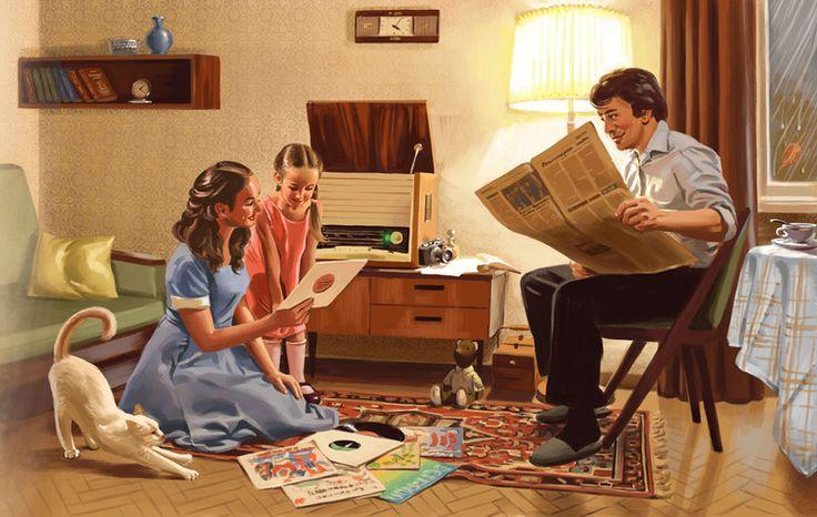 Сообщество иллюстраторов / Иллюстрации / Валерий Барыкин / Радиола
