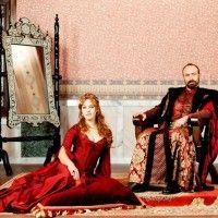Hurrem sultan kırmızı bindallı modeli 200x200 Hurrem Sultan Bindallı Modelleri