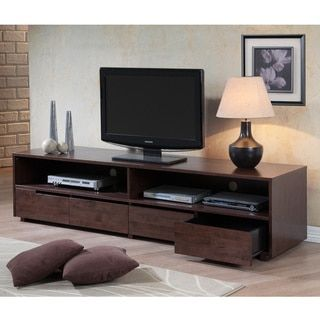 Burke 4-drawer Entertainment Center - 80005232 - Overstock.com Shopping - Great Deals on I Love Living Entertainment Centers