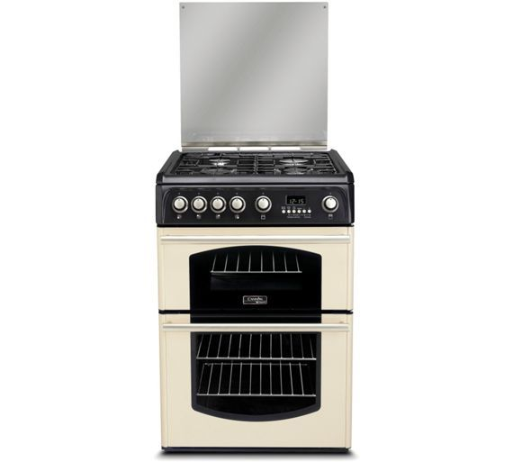 Buy Hotpoint Cannon CH60GTCF Freestanding Gas Cooker - Cream at Argos.co.uk, visit Argos.co.uk to shop online for Freestanding cookers, Cooking, Large kitchen appliances, Home and garden