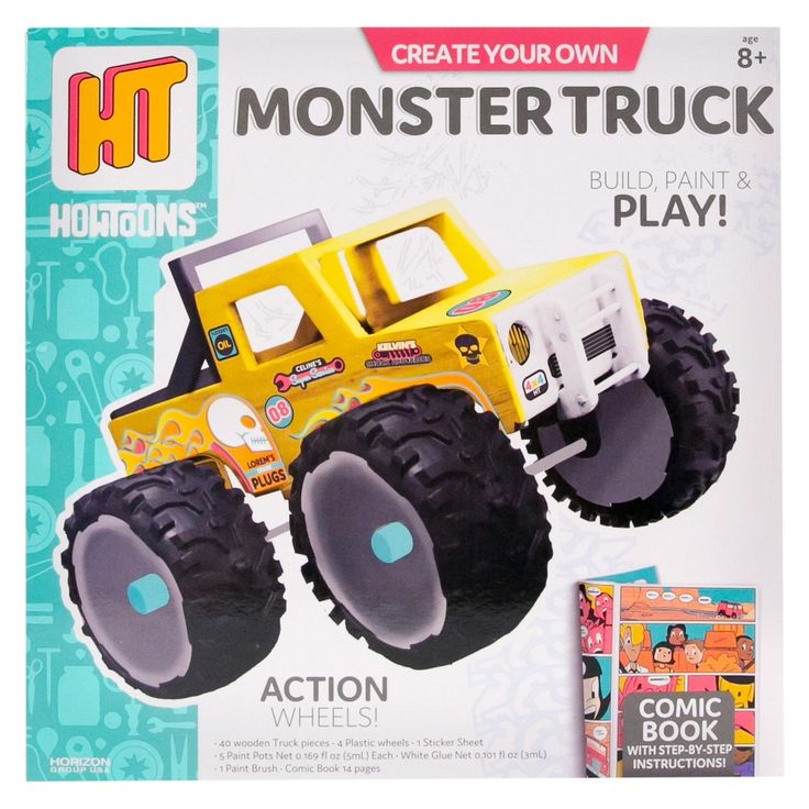 The Best Monster Trucks Ideas On Pinterest Preschool