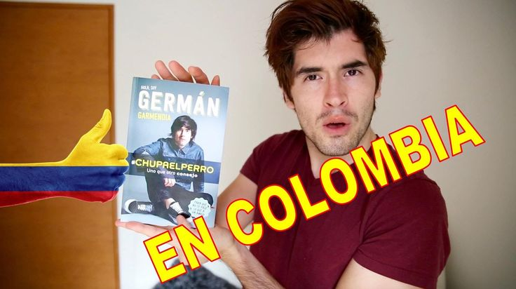 German Garmendia en Colombia FILBO 2016