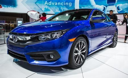 2016 Honda Civic - Coupe (not this color...)