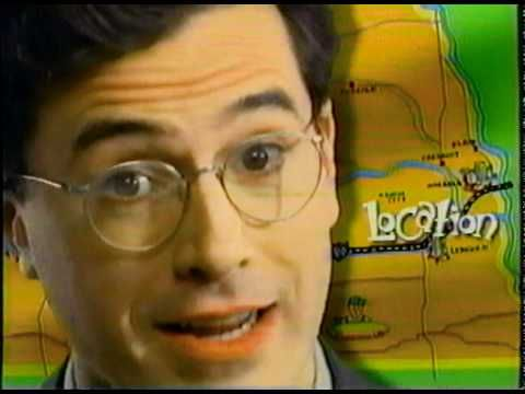 FirsTier Bank: We all gotta start somewhere. Was Colbert born in a suit and glasses?