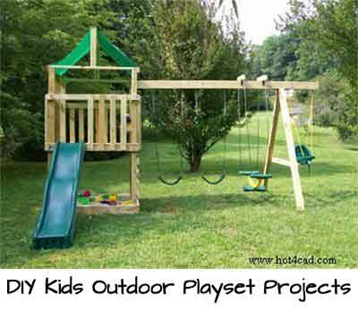 48 best swing set clean up images on pinterest outdoor swing diy kids outdoor playset projects a roundup of 12 of the best projects we could find with tutorials including this one from solutioingenieria Images