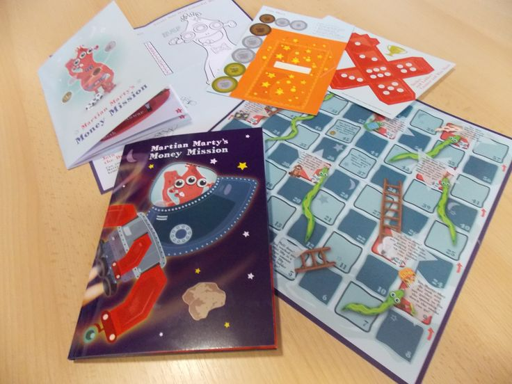 The 'Marty the Martian' project packs for Key Stage 1 pupils, free to primary schools in Hart District, and available to be bought by other schools, to promote financial capability amongst 5-7 year olds.