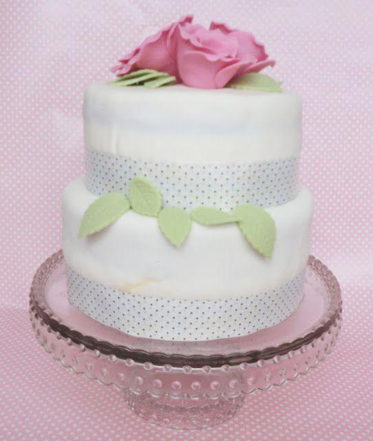 The Sweetest Taste: Mi primera tarta de dos pisos