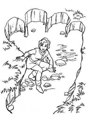 Excalibur coloring page 27