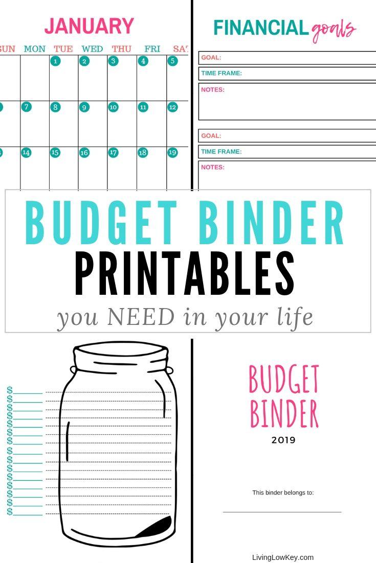 Budget Binder Budget Binder Budgeting Budgeting Worksheets