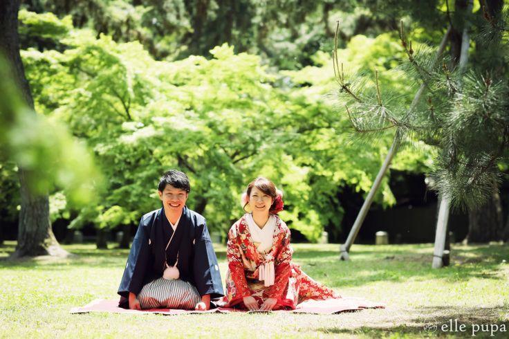 バラエティーat京都御所 |*ウェディングフォト elle pupa blog*|Ameba (アメーバ)