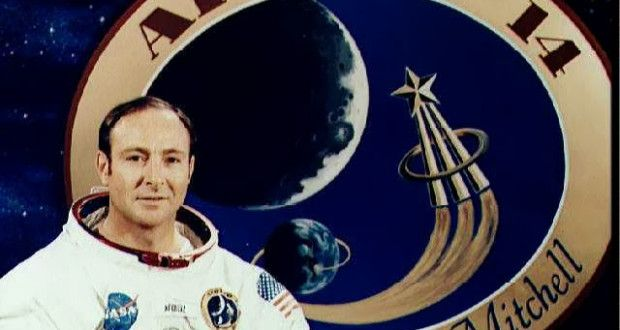 Apollo astronaut Edgar Mitchell returned from his mission to the moon a chan...