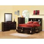 Coaster Furniture - Phoenix Storage Cal King Bed - C200409KW  SPECIAL PRICE: $1,308.97