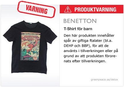 Benetton T-Shirt för barn