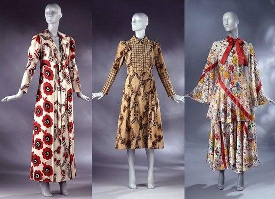Богемные платья Ossie Clark