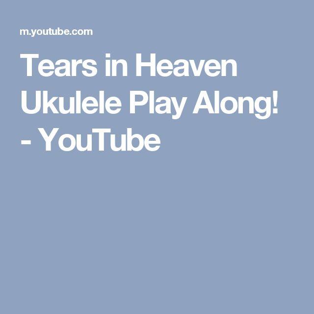 Tears in Heaven Ukulele Play Along! - YouTube