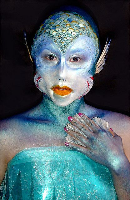 Fantasy Makeup | Special FX Makeup by CMS Student! | Flickr - Photo Sharing!