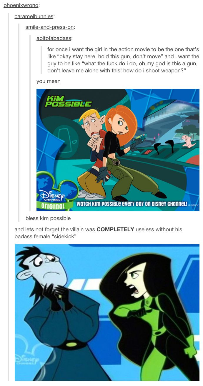KIM POSSIBLE WAS LIFE, it broke so many barriers