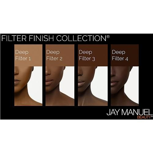 Jay Manuel Beauty® Powder to Cream Foundation - Deep Filter 3