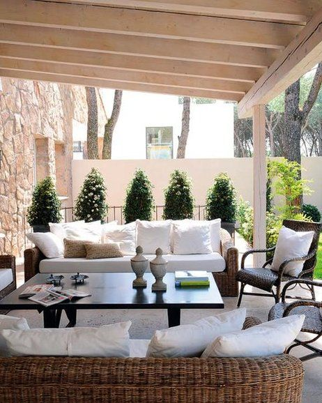 Materiales Naturales - outdoor living romance
